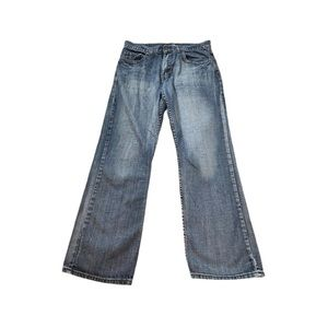 Flypaper Men's Medium Wash Cross Pocket Jeans